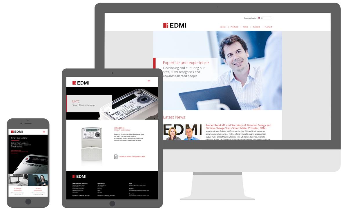 EDMI – Website